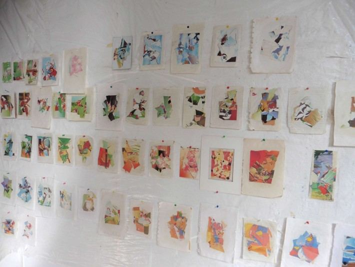 Collages, installation October 2016